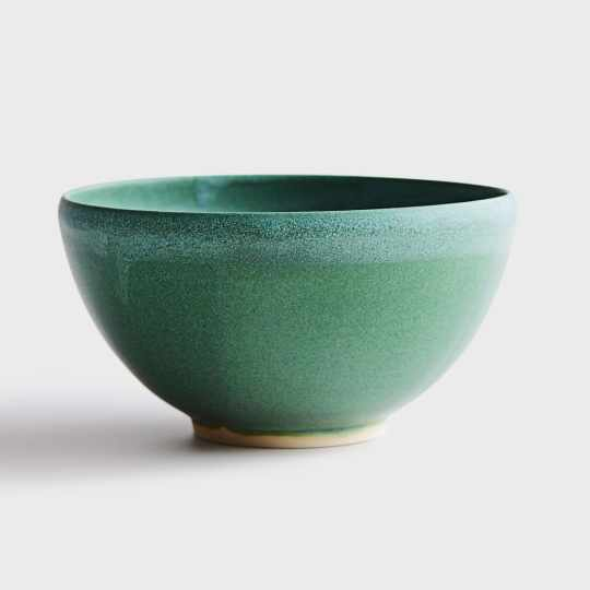 Emerald Turquoise Bowl by Jim Franco