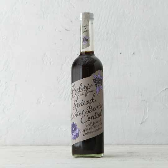 Spiced Winter Berries Cordial from Belvoir Fruit Farms