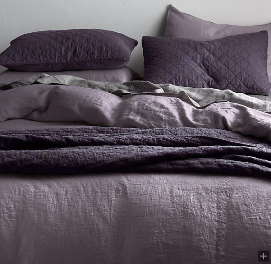 Garment Dyed Linen Bedding