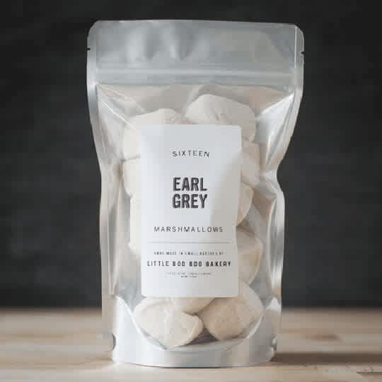 Earl Grey Marshmallows from Little Boo Boo Bakery
