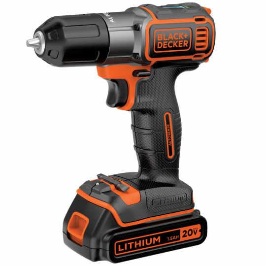 Black & Decker 20-Volt Cordless Drill