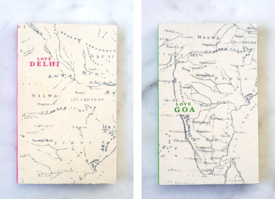 Love Travel Guides by Fiona Caufield