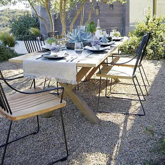 Communal & Berkshire Outdoor Furniture Collection