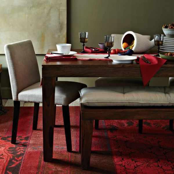 Modern Farmhouse Tables Kitchn - Real wood farm table