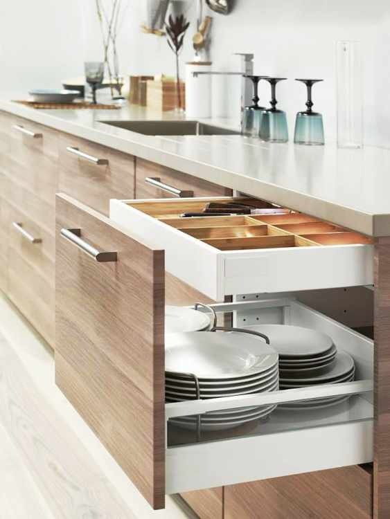The Best IKEA Kitchen Cabinet Organizers | Apartment Therapy
