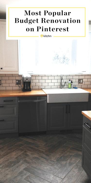 most popular budget kitchen renovation on pinterest kitchn