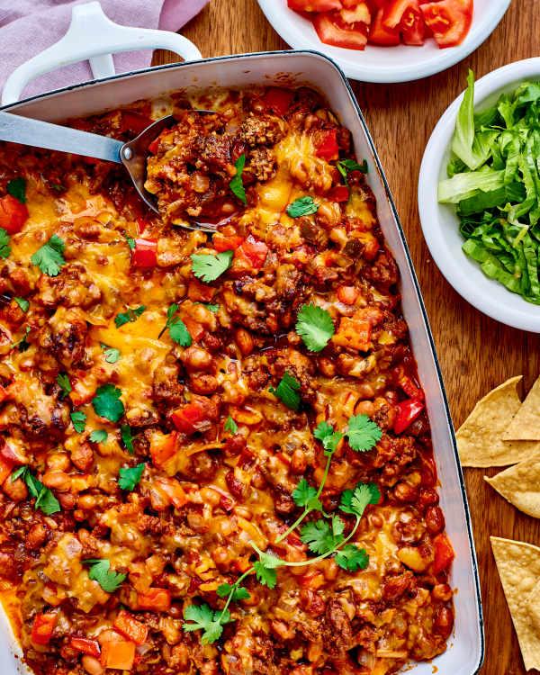 recipe ground beef taco casserole kitchn