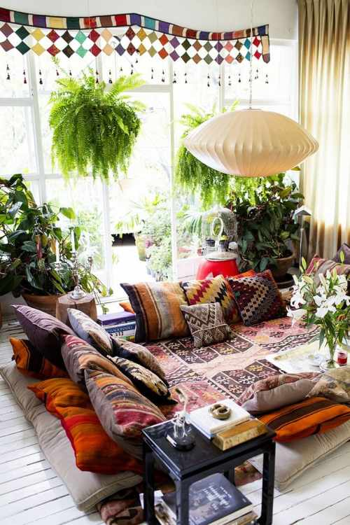 A Gallery of Bohemian Living Rooms | Apartment Therapy