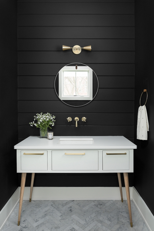 Make Your Bathroom, Like, Really Dark