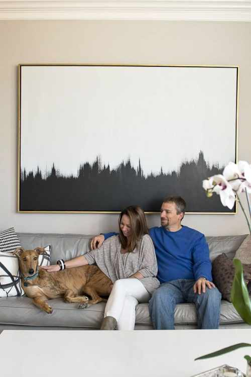 Create your own art with these abstract art diys apartment therapy solutioingenieria Gallery