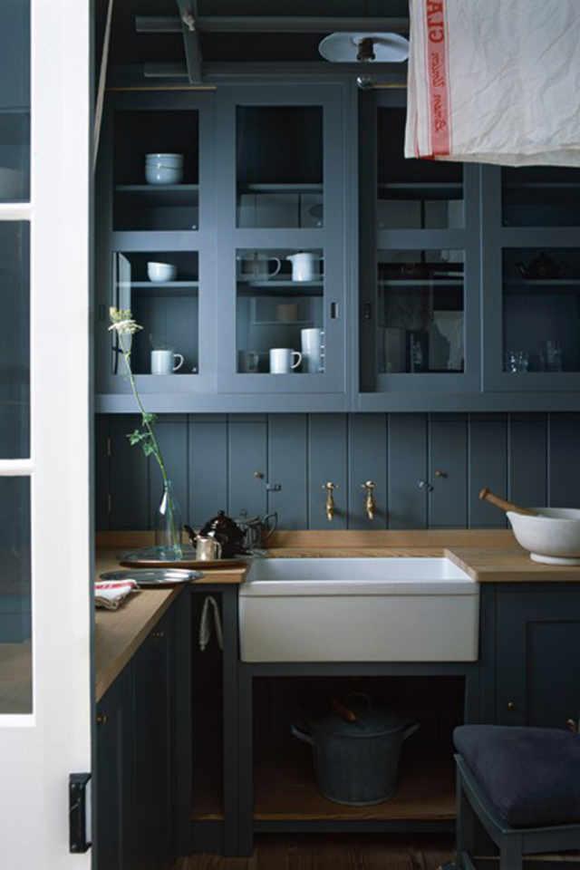 Https Dusty Blue Kitchen Paint Colors