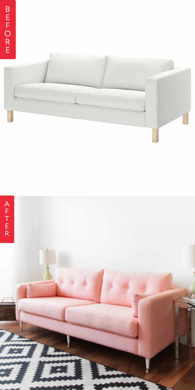 How To Make Your Old Ugly Sofa Look New Again Apartment
