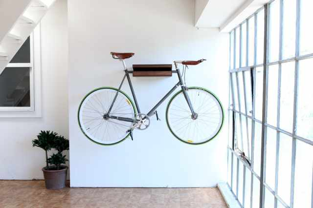 11 Space-Saving Indoor Bike Storage Solutions | Apartment Therapy