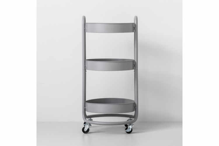 Made By Design Round Metal Utility Cart