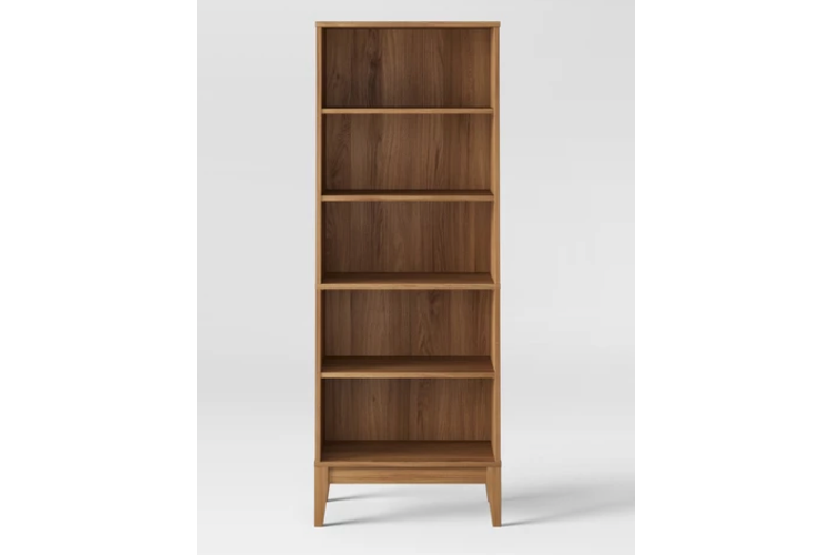 62 Siegel 5 Shelf Bookcase