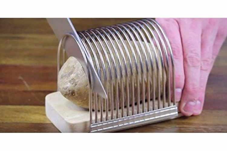 Hasselback Potato Slicing Rack