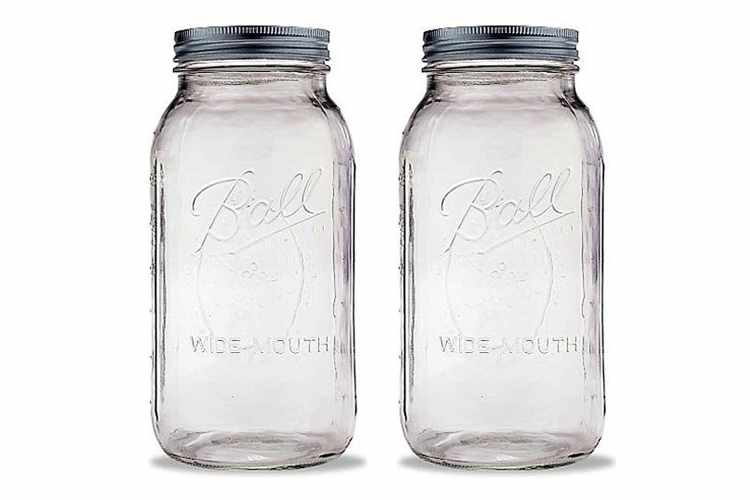 Ball 2 Quart Wide Mouth Canning Jars