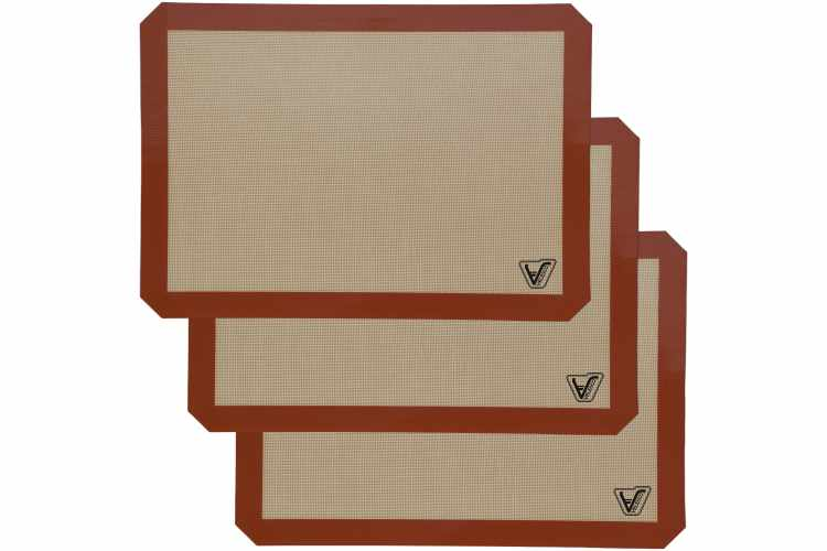 Silicone Baking Mat – Set of 3 Half Sheet