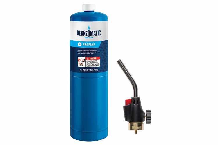 Bernzomatic Propane Torch Kit
