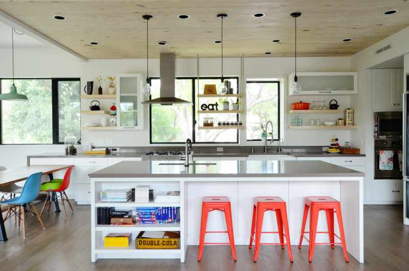 kitchen counter tops these stylish kitchens are actually kid friendly kitchn 12805