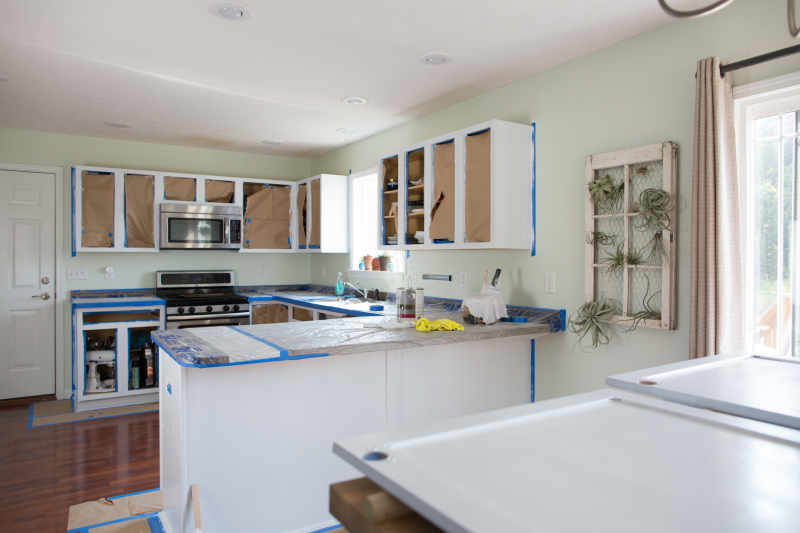 How Much Does It Typically Cost To Paint Kitchen Cabinets