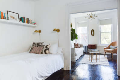 the best small space bedroom ideas apartment therapy - Space Bedroom