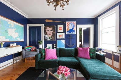 Trick of the Trade: Sectional Sofas in Small Spaces | Apartment Therapy