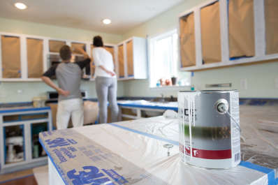 the best paint for painting kitchen cabinets kitchn