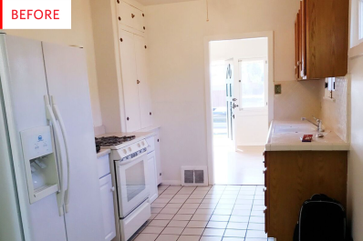 Kitchen Decor Ideas - Rental Makeover Before After | Apartment Therapy
