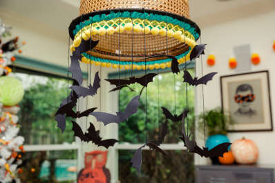 last minute diy halloween decor thats fast and easy apartment therapy