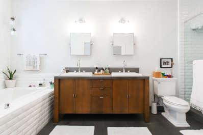 bathroom tile ideas floor shower wall designs apartment therapy - Bathroom Tile Ideas