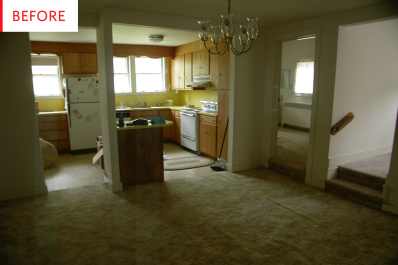 Before & After: An Outdated Home Contemporary Remodel | Apartment ...