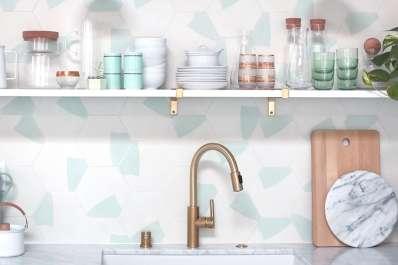 Kitchen Backsplash - Tile Ideas, Pictures, Designs   Apartment Therapy
