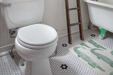 our favorite vintage mosaic floor tiles for bathrooms apartment therapy - Vintage Bathroom Tile