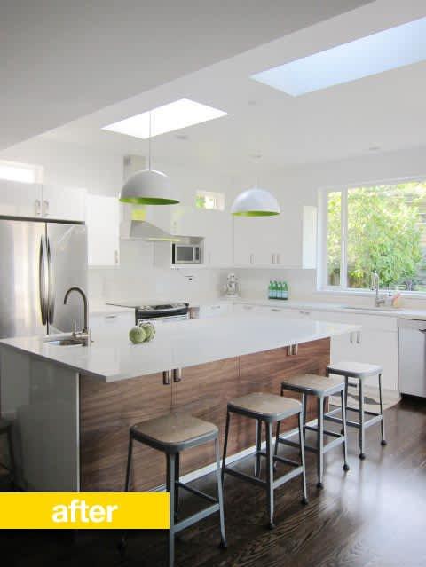 Kitchen Before & After: Heejoo's Open Floor Plan IKEA