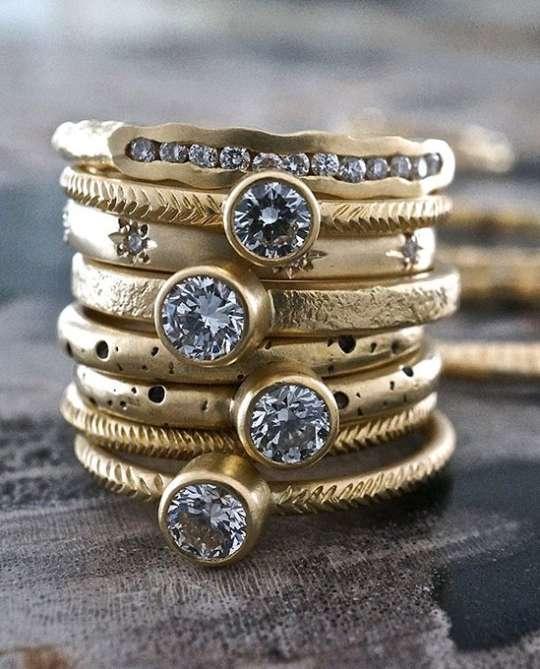 Sarah Swell Diamond Rings