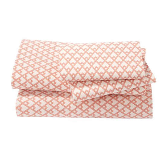 Masal Persimmon Sheet Set at DwellStudio