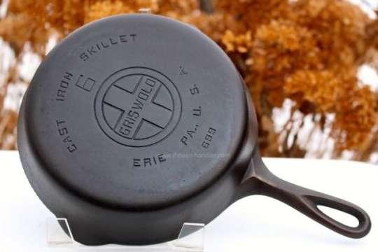 Griswold Large Block Logo EPU Cast Iron Skillet
