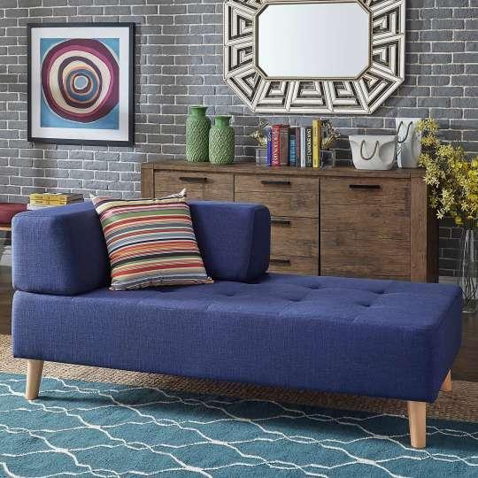 Soto Modern Upholstered Modular Chaise Loveseat