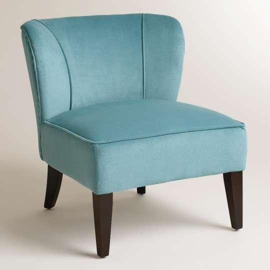Caribbean Blue Quincy Chair