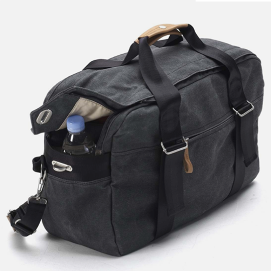 Weekender in Washed Black at Qwstion