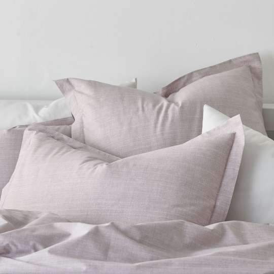 Canvas Percale Bedding - Rose Quartz