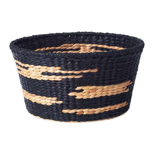 VIKTIGT Basket, Black, Natural