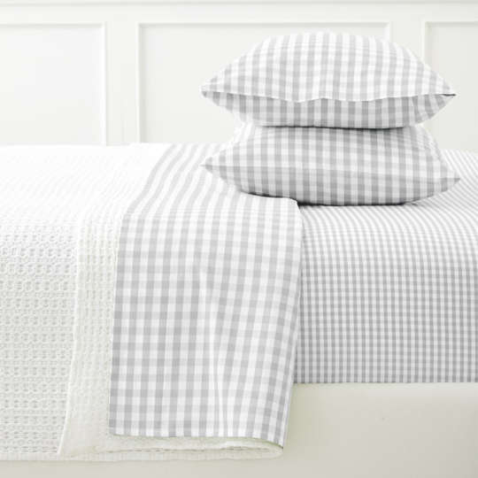 Gingham Sheet Set at Serena & Lily
