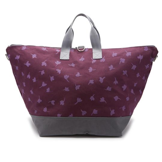 Weekender Travel Bag in Printed Buttercup at Queen Bee Creations