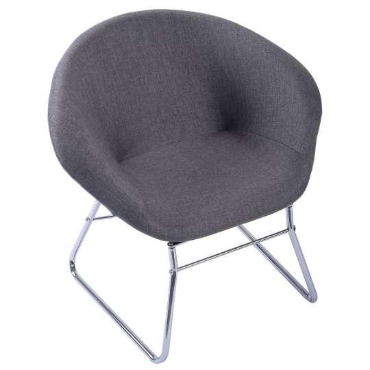Modern Gray Accent Chair