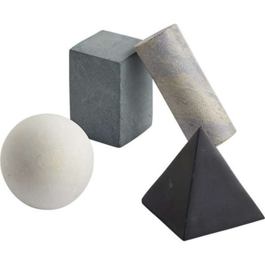 Set of 4 Drink Rocks from CB2