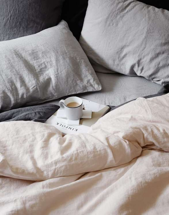 (Image Credit: Cultiver). Thereu0027s No Denying That Linen Bedding ...