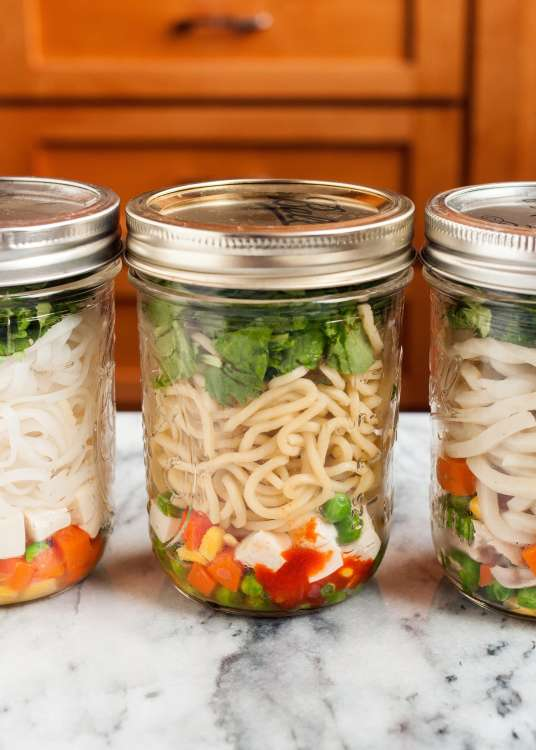 How to meal prep noodles