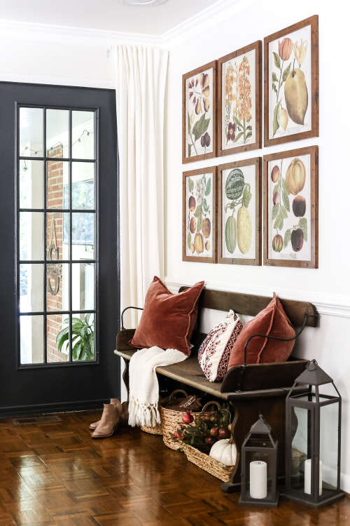 Fall Foyer Decorating Ideas | Apartment Therapy